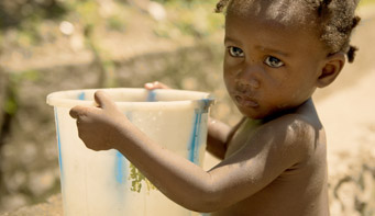 you guarantee clean water to a family in Haiti