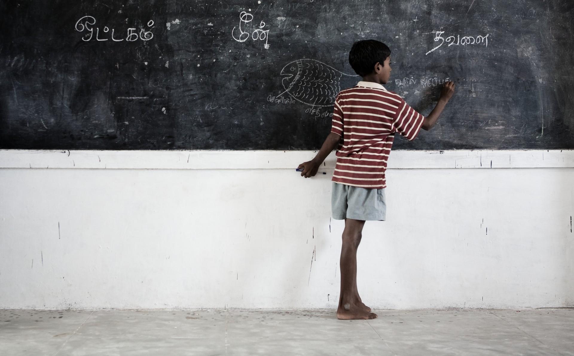 Foto di Mariavittoria Trovato. Sfruttamento del lavoro, sfruttamento dei bambini