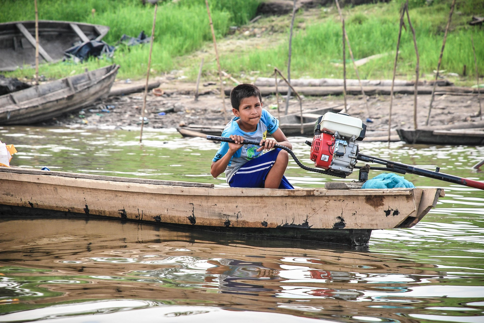Amazzonia, Iquitos. Foto di Yofre E. Morales