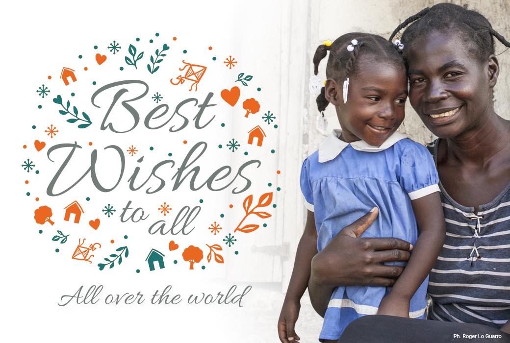 Auguri a tutti, in tutto il mondo, da parte di Cesvi.